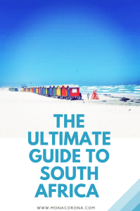 The ultimate guide and travel itinerary for Cape Town, The Garden Route, and Kruger National Park in South Africa. #CapeTown #SouthAfrica #Safari